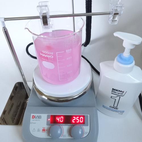 メンズビオレワン 洗浄力 試験