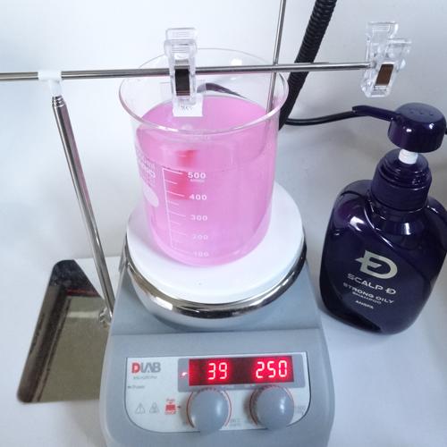 スカルプD ストロングオイリー 洗浄力 試験
